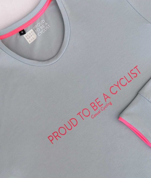 casual cycling transparent t-shirt