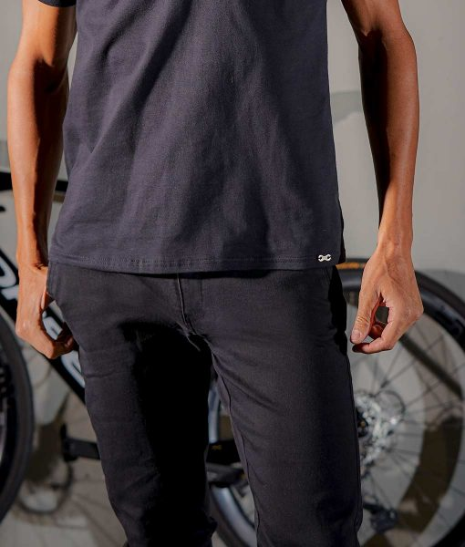 casual cycling transparent denim