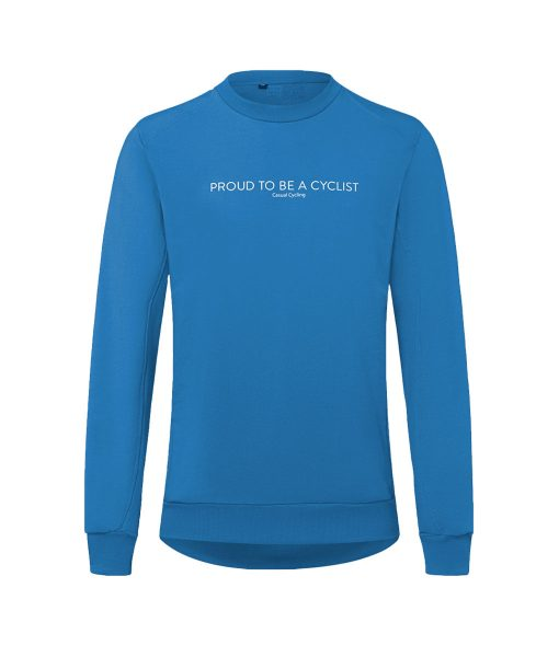 casual cycling sweatshirt transparent