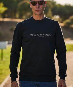 casual cycling sweatshirt transparent