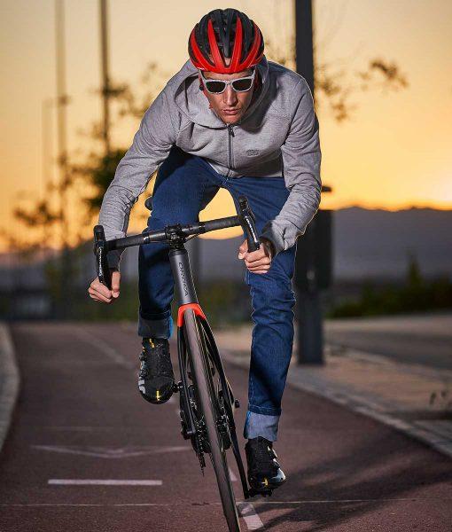 Casual Cycling Transparent jacket
