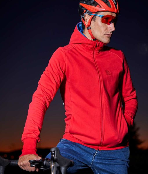 casual cycling transparent jacket