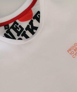 Camiseta ciclismo casual transparent