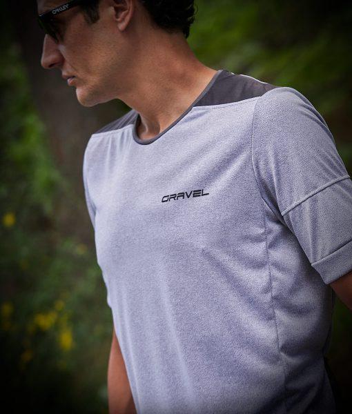 camiseta Gravel transparent