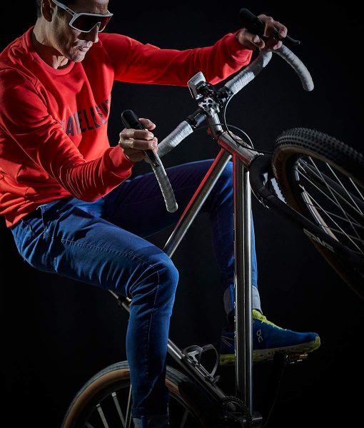 sudadera gravel casual cycling