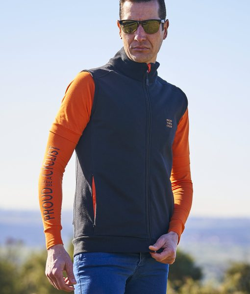 chaleco casual cycling transparent